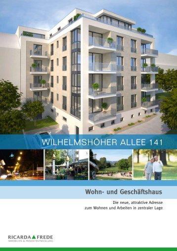 Exposé Wilhelmshöher Allee 141 - Ricarda Frede
