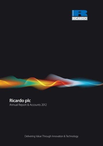 2012 - Ricardo