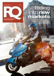 Riding into new markets - Ricardo