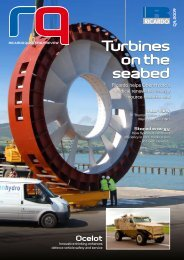 turbines on the seabed - Ricardo