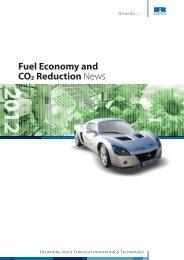 Fuel Economy & CO2 Reduction News - Ricardo