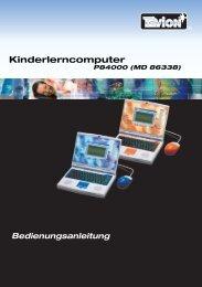 Kinderlerncomputer - G A R A N T I E B E D I N G U N G E N - Medion