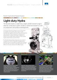 Light-duty Hydra - Ricardo