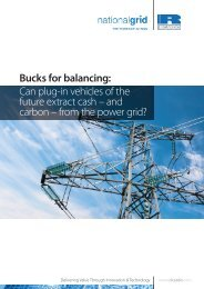 Bucks for balancing: Can plug-in vehicles of the future ... - Ricardo