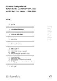 Jahresbericht 2004/2005 - ShoppingPortal