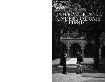 07 Undergrad Info.pdf - Rice University