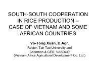 VoTongXuan_CARD Meeting in Sierra Leone - Coalition for African ...