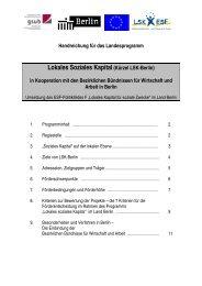 Lokales Soziales Kapital (Kürzel LSK-Berlin)