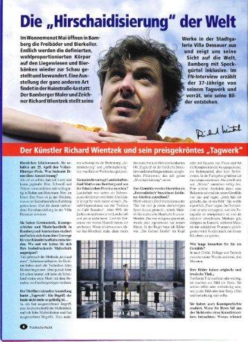 Fränkische Nacht, Mai 2008: Die ... - Richard Wientzek