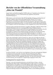Bericht von der 7. Sitzung am 2. September 2010