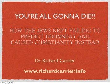 Isaiah 53 - Richard Carrier