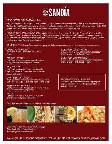LA SANDIA - Richard Sandoval Restaurants