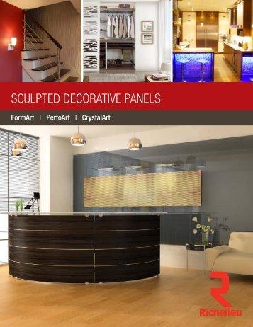 Download Sculpted Decorative Panels PDF Brochure - Richelieu