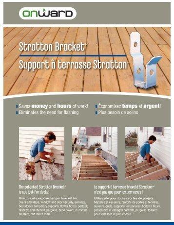 Support à terrasse StrattonMC Stratton Bracket® - Richelieu