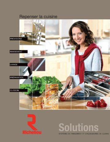 Accessoires de cuisine - Armoires de Cuisine Bois d'Or