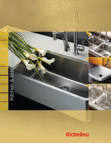 Kitchen & Bathroom Sinks - Richelieu