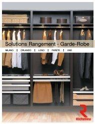 Solutions Rangement Garde-Robe Solutions ... - Richelieu