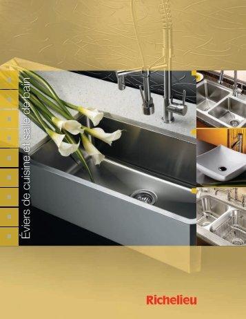 Éviers de cuisine et salle de bain - Richelieu