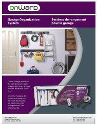 Garage Organization System Système de rangement ... - Richelieu