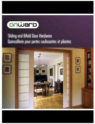 Sliding and Bifold Door Hardware Quincaillerie pour ... - Richelieu