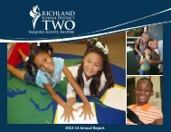 2012-13 Annual Report - Richland School District Two!