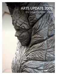 2009 Arts Update.indd - City of Richmond
