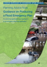 Guidance on producing a flood emergency plan - London Borough ...