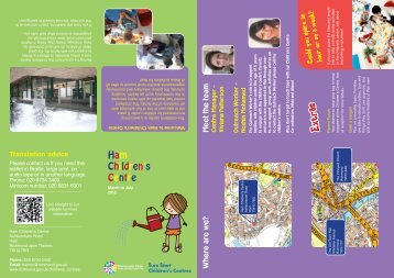 Children's Centre - London Borough of Richmond upon Thames