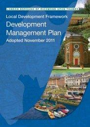 Development Management Plan - London Borough of Richmond ...