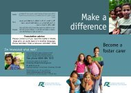 Fostering leaflet - London Borough of Richmond upon Thames