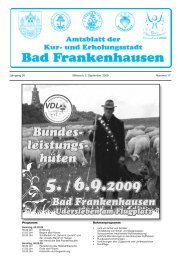 Goldene Hochzeit - Bad Frankenhausen
