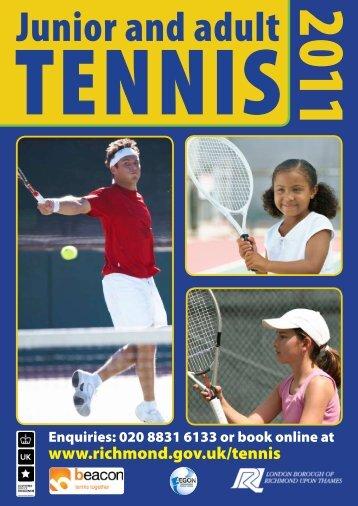 Junior And Adult TENNIS - London Borough of Richmond upon ...