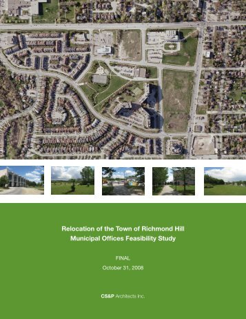 08-10-30 RICHMOND HILL-FINAL.indd - Town of Richmond Hill