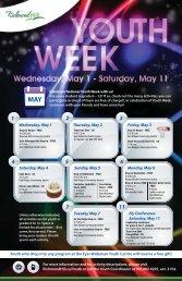 Youth Week Calendar 2013 v9.ai - Town of Richmond Hill