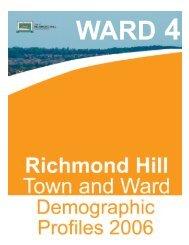 Ward 4 Profile [PDF] - Town of Richmond Hill