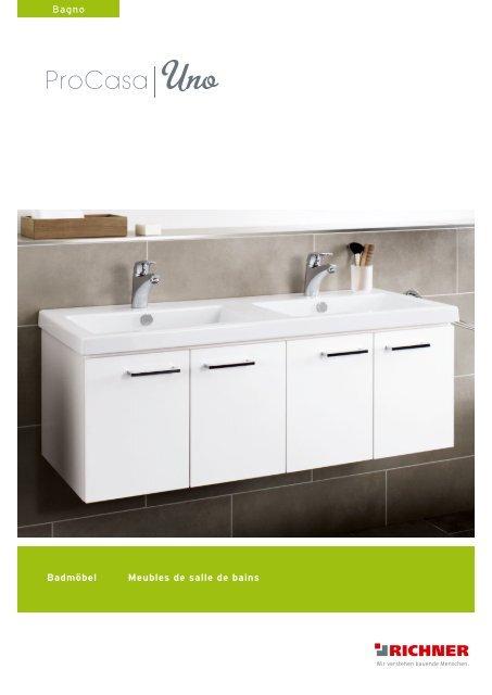 Badmöbel Meubles de salle de bains Bagno - Richner