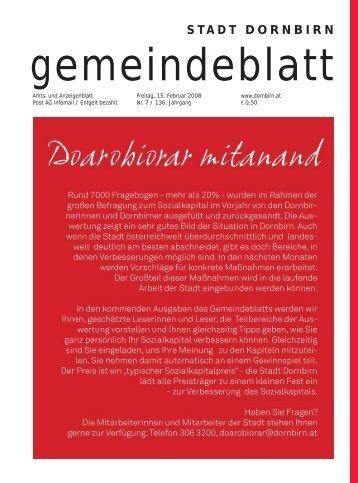 stadt dornbirn krankenhaus - Dornbirn Online