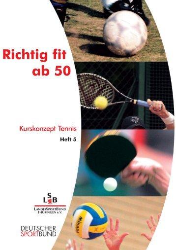 Heft 5- 4 Umschlagseiten.pmd - Richtig Fit ab 50
