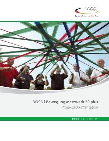 Bewegungsnetzwerk 50 plus - Der Deutsche Olympische Sportbund