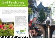 Bad Fredeburg gut Gewerbe- und Touristik eV