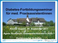 Diabetes - Bayer Diabetes Care Schweiz