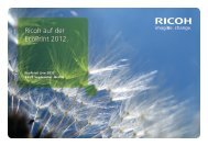 EcoPrint Event Guide PDF - Ricoh
