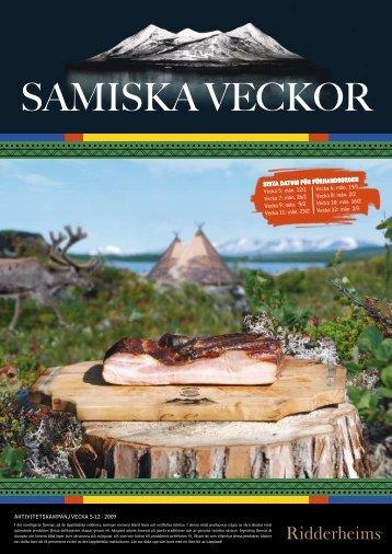 SAMISKA vecKor - Ridderheims