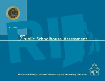 ublic Schoolhouse Assessment - Rhode Island Department of ...