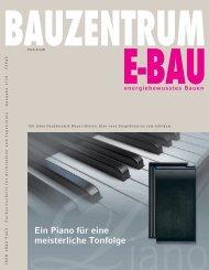 Ausgabe 1/10 - BAUZENTRUM E-BAU