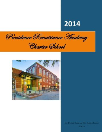 Providence Renaissance Academy Charter School - Rhode Island ...