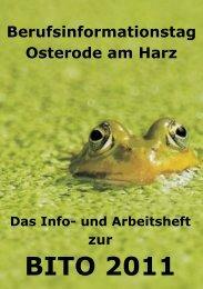 BITO 2011 - Berufsbildende Schulen II Osterode am Harz
