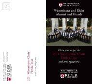 Download alumni brochure. - Rider University