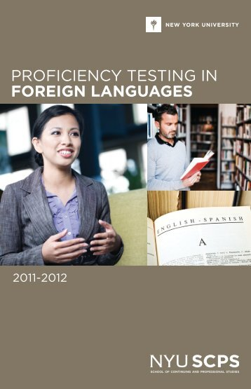 PROFICIENCY TESTING IN FOREIGN LANGUAGES - Rider University