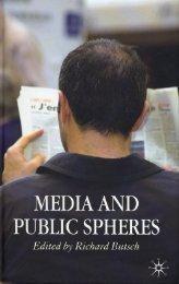 Media Public Spheres - Rider University